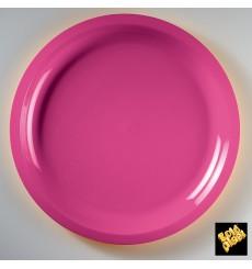 Plastikteller Rund Fuchsia Round PP Ø290mm (300 Stück)
