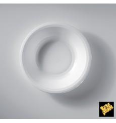 Plastikteller Rund Tief Weiß Round PP Ø195mm (50 Stück)