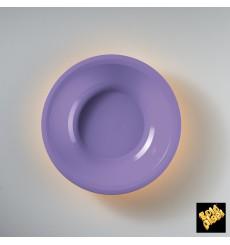 Plastikteller Rund Tief Flieder Round PP Ø195mm (600 Stück)