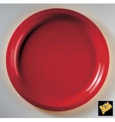 Plastikteller Rund Rot Round PP Ø290mm (300 Stück)