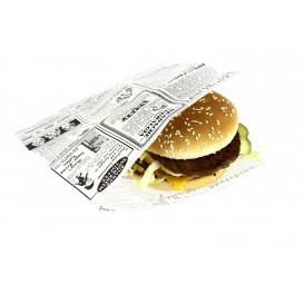 Burgerpapier fettdicht offen 2S 16x16,5cm (500 Stück)