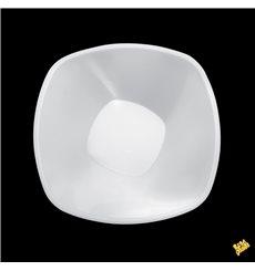 "Plastikschale PP ""Square"" Weiß 1250ml Ø21cm (60 Stück)"