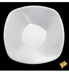 "Plastikschale PP ""Square"" Weiß 3000ml Ø27,7cm (30 Stück)"