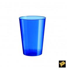Becher aus Hartplastik Blau Pearl PS 200ml (50 Stück)