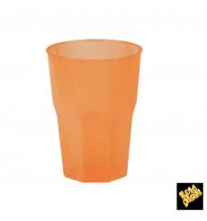 Becher aus Hartplastik Orange PP 350ml (20 Stück)