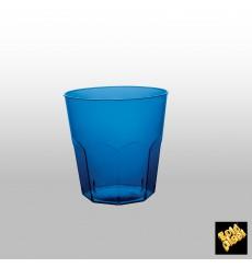 Plastikbecher BlauTransp. PS Ø73mm 220ml (50 Stück)