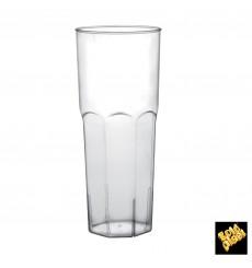 Plastikbecher Long Drink Transp. PP Ø65mm 350ml (10 Stück)