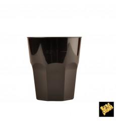 Plastikbecher für Cocktail Schwarz PP Ø84mm 270ml (20 Stück)