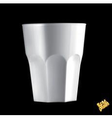 Wiederverwendbares Glas SAN Rox Weiß 300ml (120 Stück)