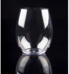 Plastikbecher Transparent Tritan 390ml (6 Stück)
