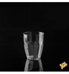 Plastikbecher Transparent SAN 355ml (6 Stück)
