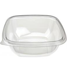 Salatschale aus Plastik Flach PET 250ml (500 Stück)