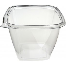 Salatschale aus Plastik Viereckig PET 500ml (500 Stück)