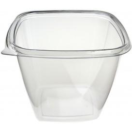 Salatschale aus Plastik Viereckig PET 500ml (50 Stück)