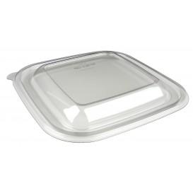 Deckel für Salatschale aus Plastik PET 170x170mm (50 Stück)