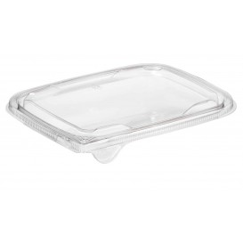 Deckel Flach für Plastiksalatschale PET 18x14cm (1000 Stück)