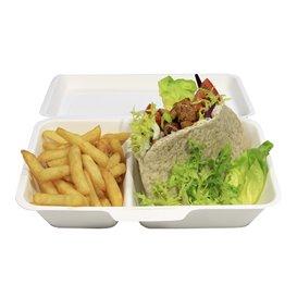 Burger-Box Zuckerrohr 18x12,5x7cm (50 Stück)