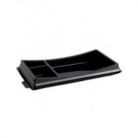 Verpackung für Sushi schwarz 199x113mm (720 Stück)