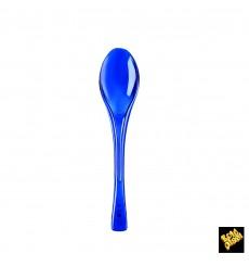 Plastiklöffel Fly Blau Transparent 145mm (50 Stück)