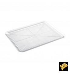 Serviertablett Plastik Tray Transp. 37x50cm (4 Stück)
