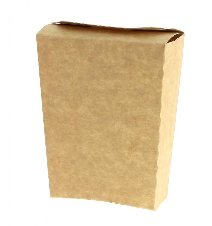 Geschlossene Pommes Box kraft (450 Einh.)