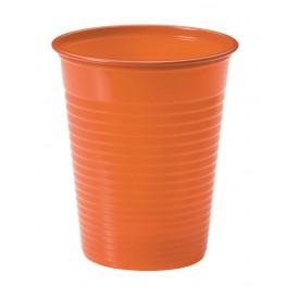 Plastikbecher Orange PS 200ml (1500 Stück)
