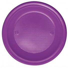 Plastikteller Tief Violett PS 220mm (600 Stück)