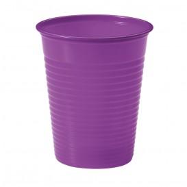 Plastikbecher Violett PS 200ml (50 Stück)