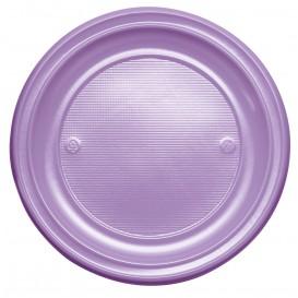 Plastikteller Flach Violett PS 220mm (780 Stück)