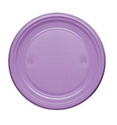 Plastikteller Flach Violett PS 170mm (50 Stück)