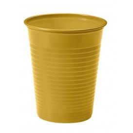 Plastikbecher Gold PS 200ml (50 Stück)