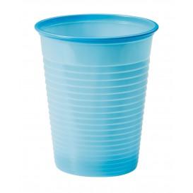 Plastikbecher Dunkelblau PS 200ml (50 Stück)