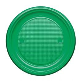 Plastikteller Flach Gelb PS 170mm (50 Stück)