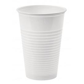 Plastikbecher Weiß PP 230ml (100 Stück)