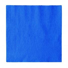 Papierservietten 2-lagig Hellblau 33x33cm (1200 Stück)