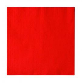 Papierservietten 2-lagig Rot 33x33cm (1200 Stück)