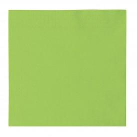 Papierservietten 2-lagig Lindgrün 33x33cm (1200 Stück)