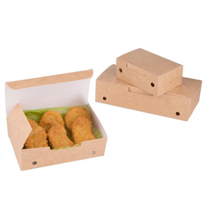 SnackBox mit Deckel To Go Mittlere Kraft 145x90x45mm (25 Stück)
