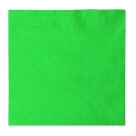 Papierservietten 2-lagig Grün 33x33cm (1200 Stück)
