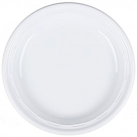 """Plastikteller PS """"Famous Impact"""" Weiße Ø230mm (500 Stück)"""