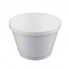 Styroporschale weiß 6OZ/180ml Ø89mm (50 Stück)