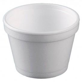 Styroporschale weiß 8OZ/355ml Ø108mm (25 Stück)