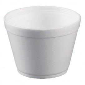 Styroporschale weiß 16OZ/475ml Ø117mm (500 Stück)