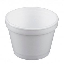 Styroporschale weiß 4OZ/120ml Ø75mm (50 Stück)