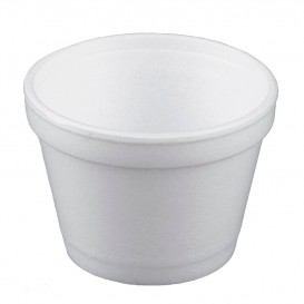 Styroporschale weiß 4OZ/120ml Ø75mm (1000 Stück)
