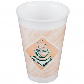 """Styroporbecher """"Café"""" 12Oz/355 ml (20 Stück)"""