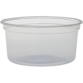 """Plastikbehälter PP """"Deli"""" 12Oz/355ml Transp. Ø120mm (25 Stück)"""