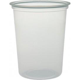 """Plastikbehälter PP """"Deli"""" 32Oz/960ml Transp. Ø120mm (25 Stück)"""