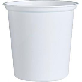 "Behälter aus Plastik PP ""Deli"" Weiß 32Oz/960ml Ø127mm (500 Stück)"