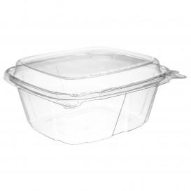 Plastikbehälter PET Unverletzlich Deckel Hoch 355ml (100 Stück)